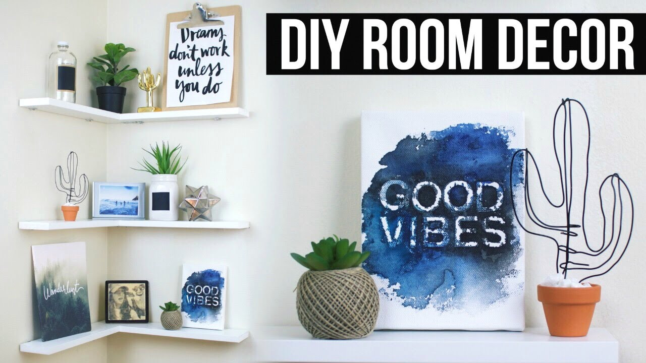 Best ideas about Pinterest DIY Room Decor . Save or Pin DIY Floating Shelves Room Decor Now.