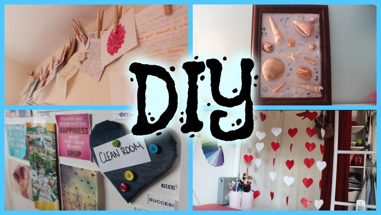 Best ideas about Pinterest DIY Room Decor . Save or Pin DIY PINTEREST INSPIRED ROOM DECOR HowToByJordan Now.
