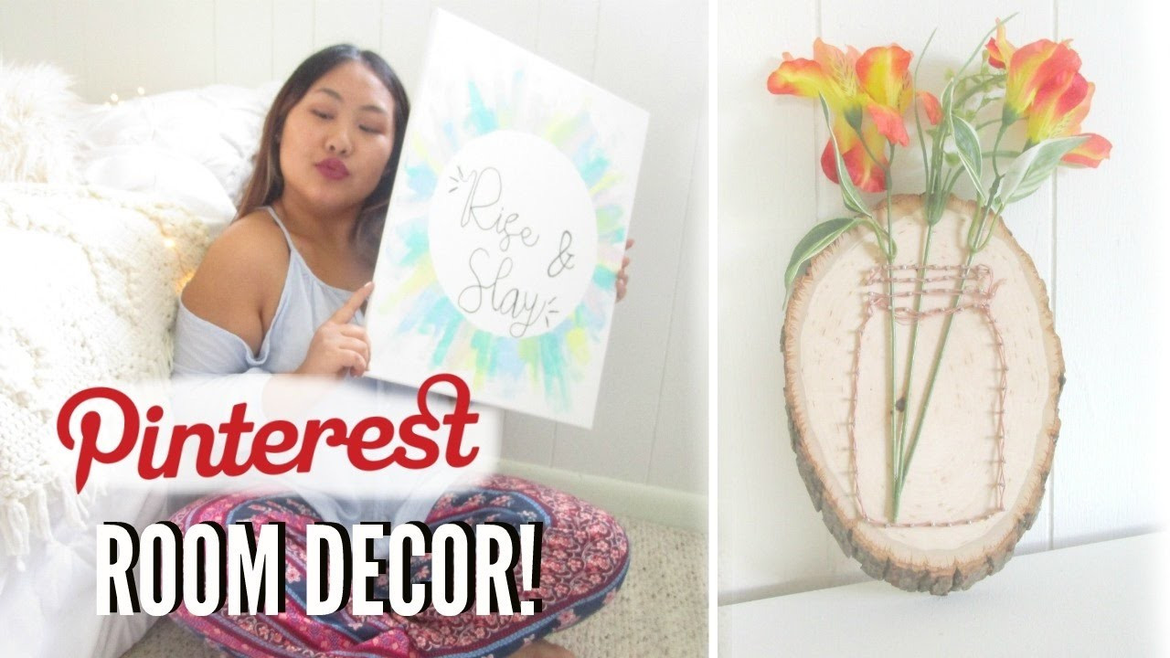 Best ideas about Pinterest DIY Room Decor . Save or Pin EASY DIY Room Decor Cute & Affordable Room Decorations Now.
