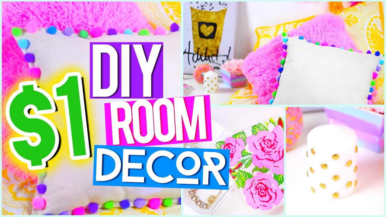 Best ideas about Pinterest DIY Room Decor . Save or Pin DIY $1 ROOM DECOR ♥ Tumblr Pinterest Inspired Now.