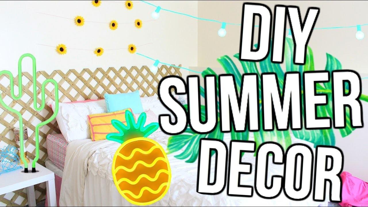 Best ideas about Pinterest DIY Room Decor . Save or Pin DIY Pinterest Summer Room Decor Now.