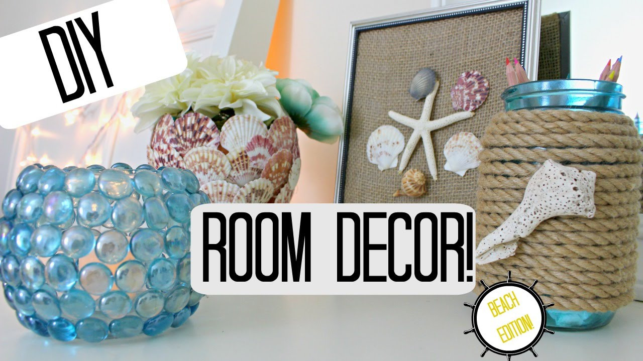 Best ideas about Pinterest DIY Room Decor . Save or Pin DIY ROOM DECOR IDEAS BEACH THEME Pinterest Inspired Now.