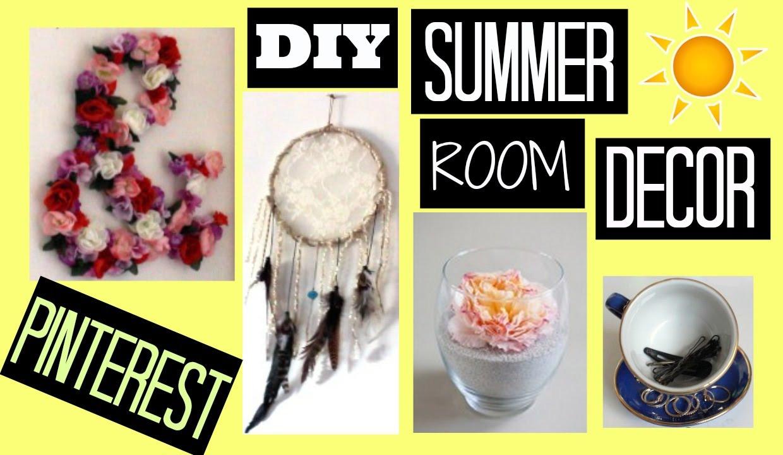 Best ideas about Pinterest DIY Room Decor . Save or Pin DIY SUMMER ROOM DECOR PINTEREST Mad Ryles Now.