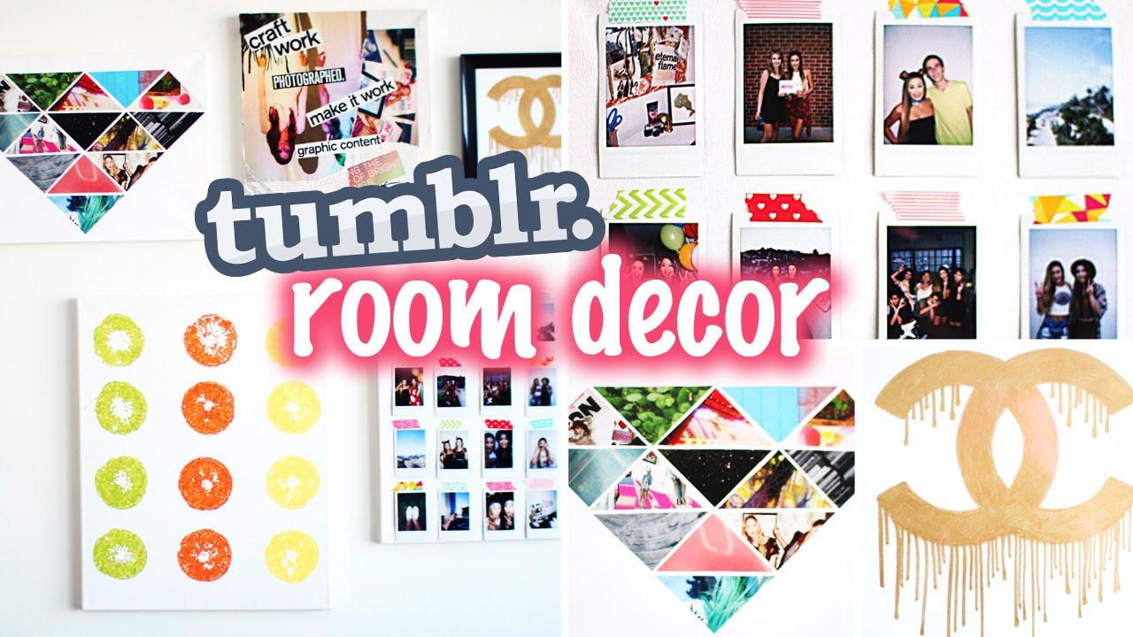 Best ideas about Pinterest DIY Room Decor . Save or Pin DIY Tumblr & Pinterest Inspired Room Decor Now.