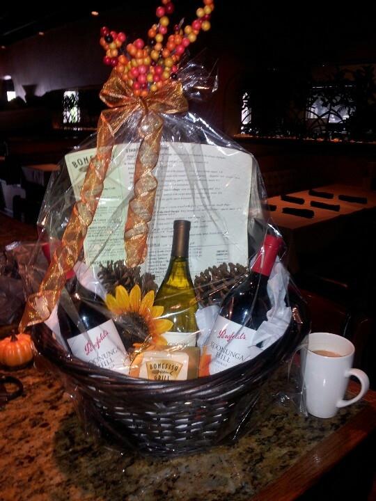 Best ideas about Pinterest Gift Basket Ideas . Save or Pin Fall wine basket Gift Ideas Pinterest Now.
