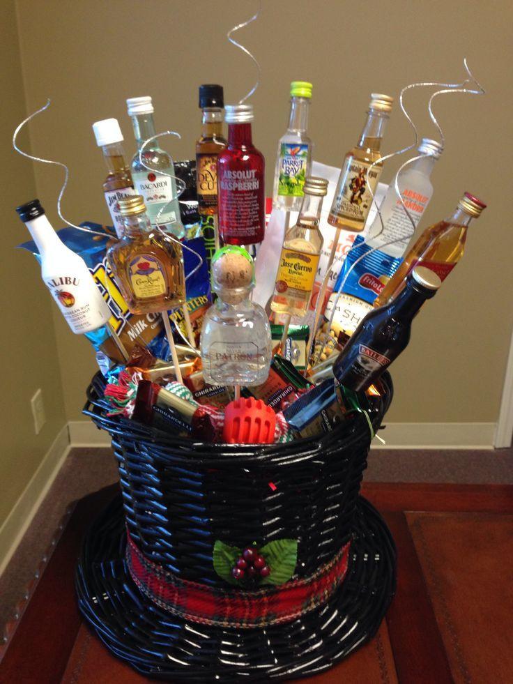 Best ideas about Pinterest Gift Basket Ideas . Save or Pin Gift Basket Ideas For Men Pinterest Men s t basket Now.