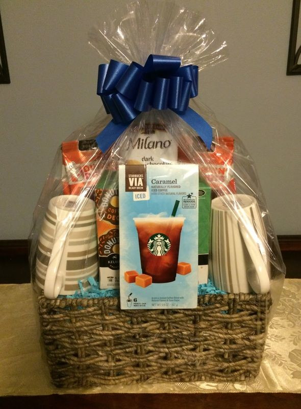 Best ideas about Pinterest Gift Basket Ideas . Save or Pin Coffee Gift Basket Gift basket ideas Corporate Gifts Now.