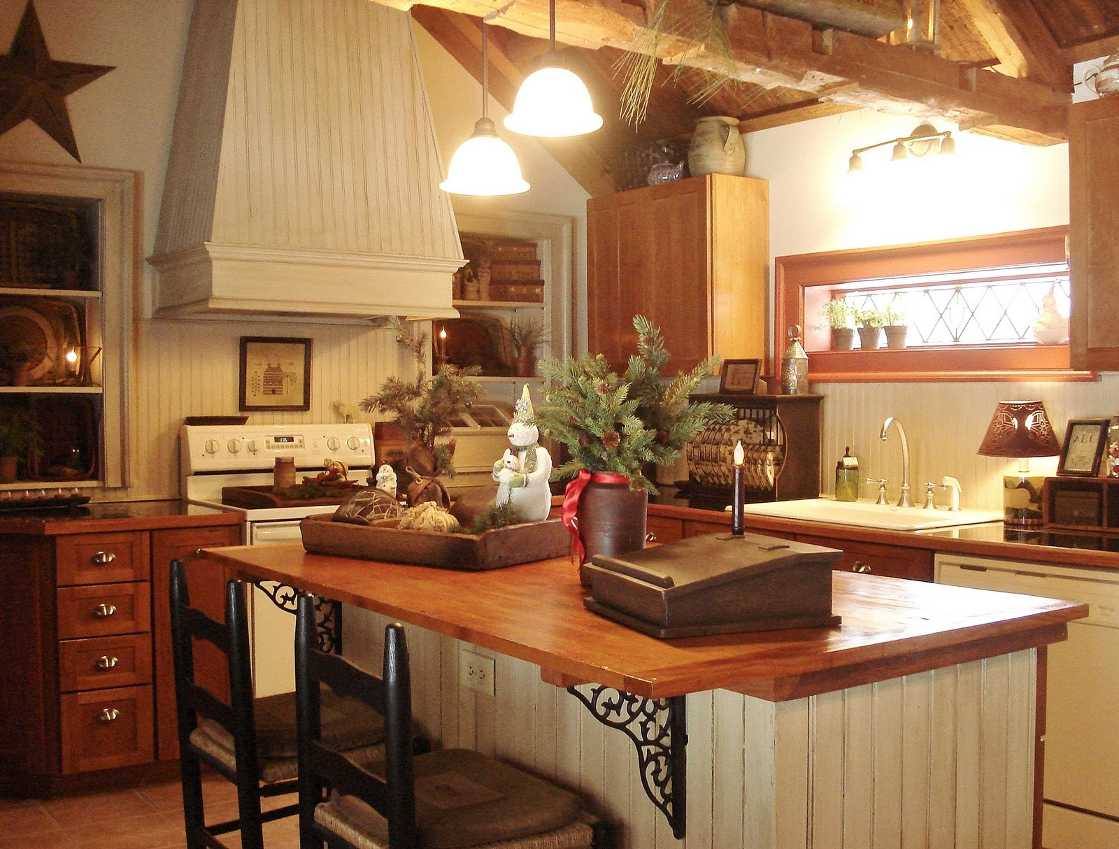 Best ideas about Pinterest Kitchen Decorating . Save or Pin A Primitive Place & Country Journal Magazine Holiday 2011 Now.