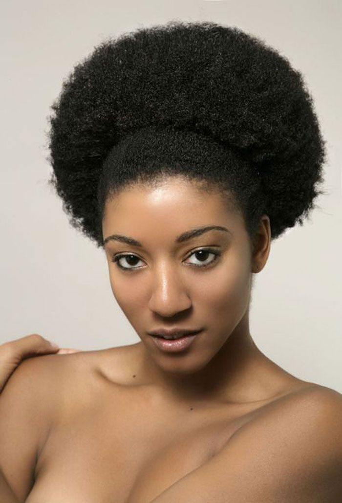 Best ideas about Pinterest Natural Hairstyles . Save or Pin Afro Puff 700×1029 Now.