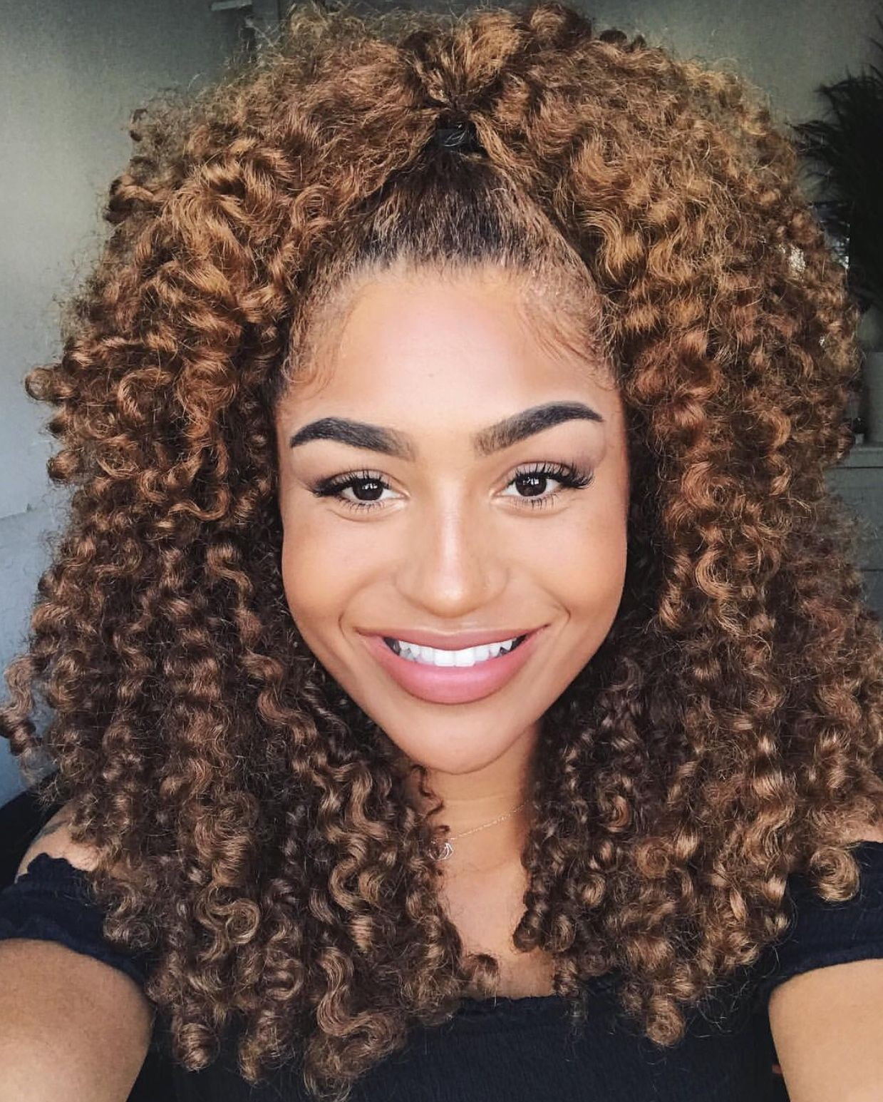 Best ideas about Pinterest Natural Hairstyles . Save or Pin pinterest evellynlouyse Curly hair in 2019 Now.