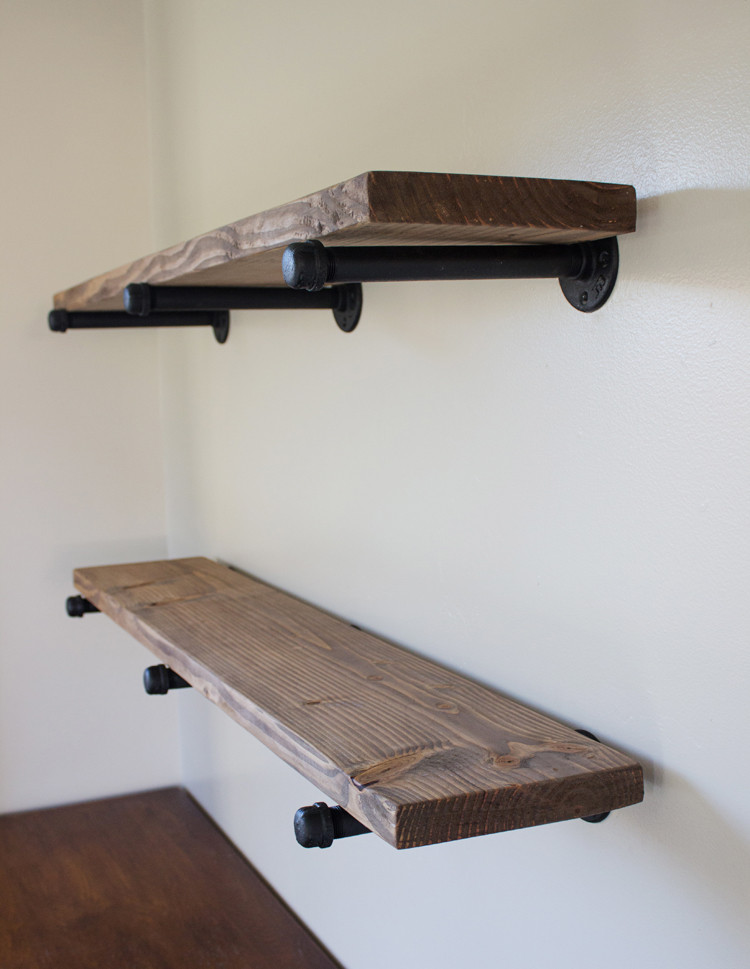 Best ideas about Pipe Shelves DIY . Save or Pin DIY Pipe Shelving Now.