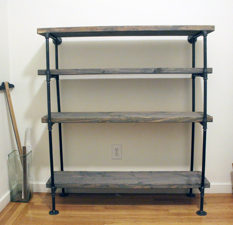 Best ideas about Pipe Shelves DIY . Save or Pin DIY Rustic Shelf Building Now.