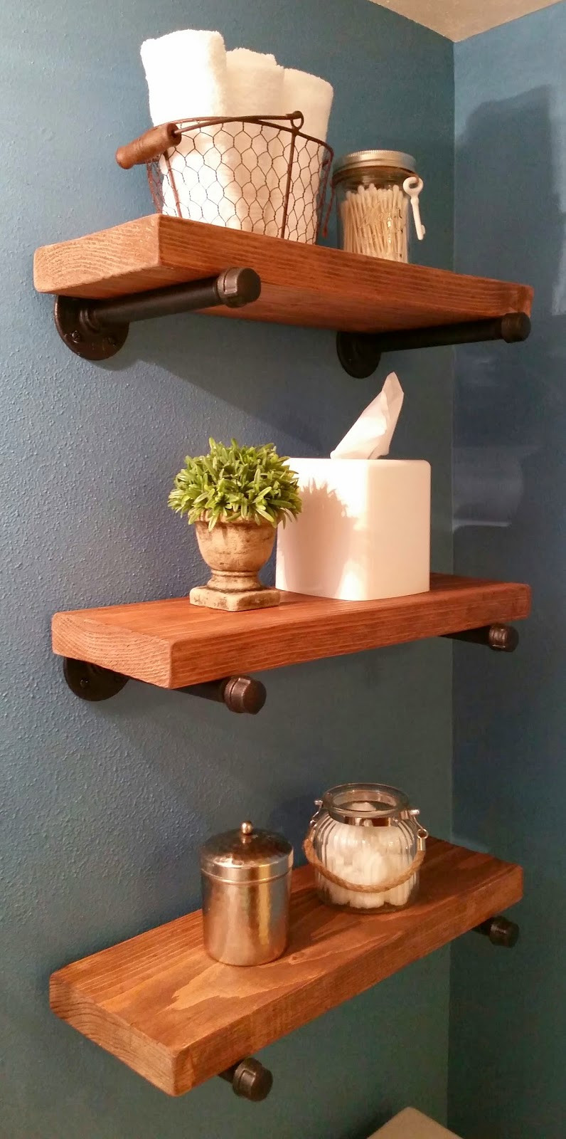 Best ideas about Pipe Shelves DIY . Save or Pin DIY Industrial Pipe Shelving Signed by Soden Now.