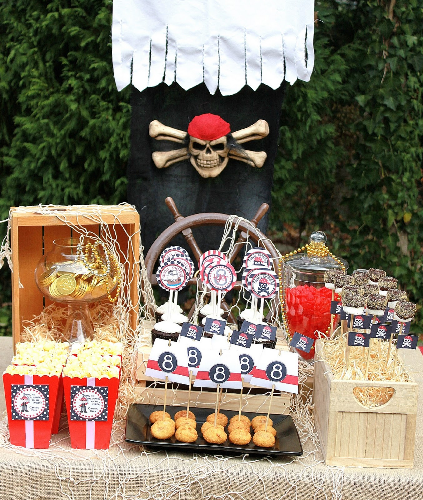 Best ideas about Pirate Birthday Party . Save or Pin Amanda s Parties To Go Pirate Party Printables Feature Now.