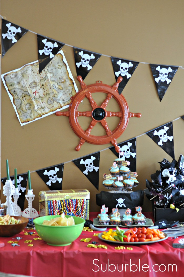 Best ideas about Pirate Birthday Party . Save or Pin Yarrrr It s a Pirate Party Suburble Now.