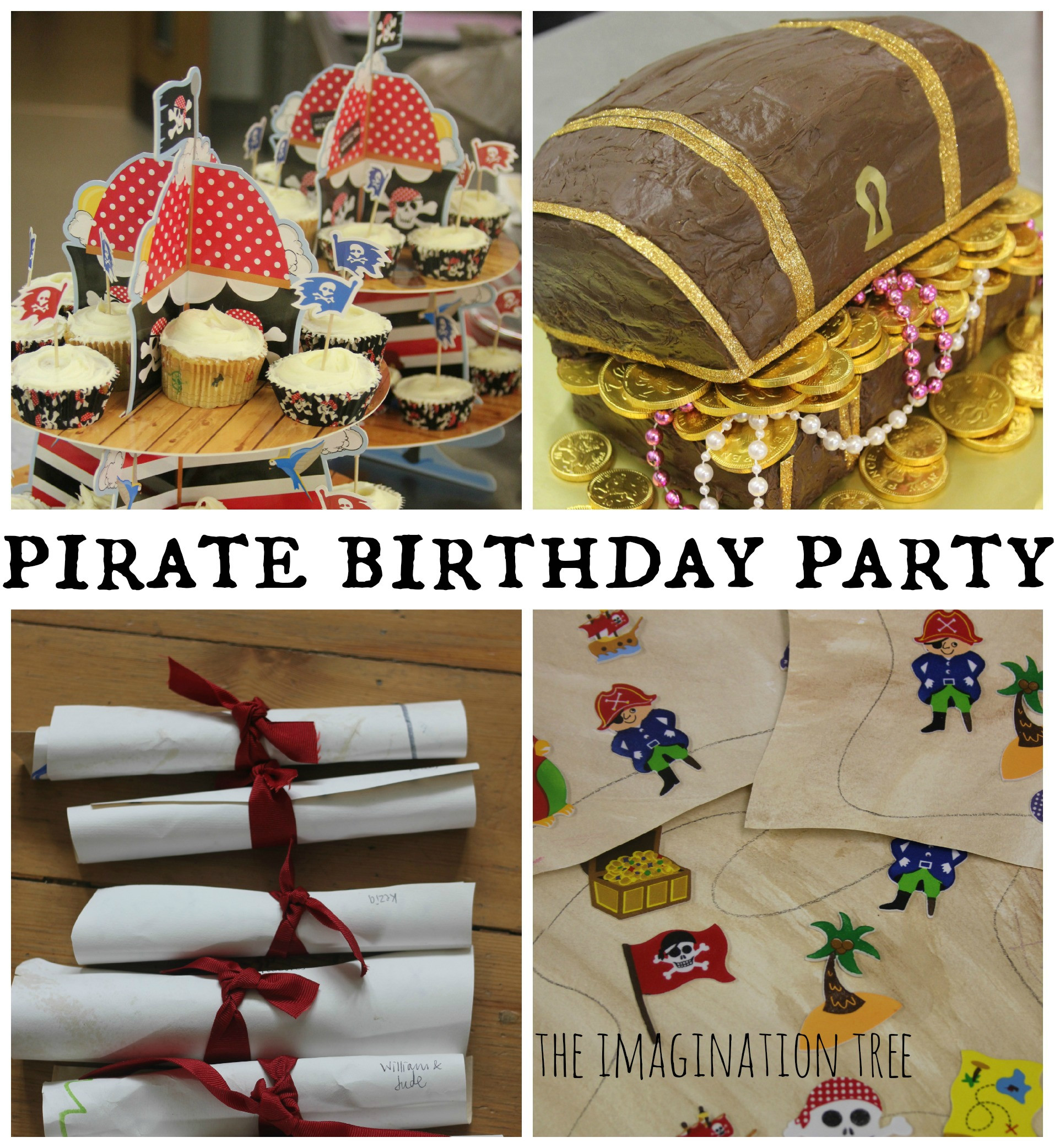Best ideas about Pirate Birthday Party . Save or Pin Pirate Birthday Party The Imagination Tree Now.