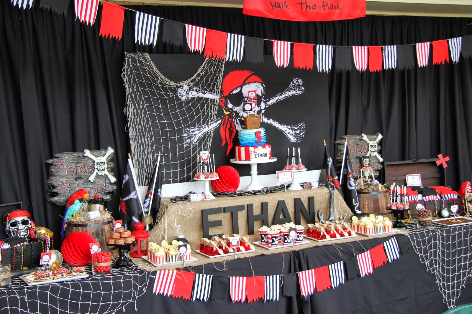 Best ideas about Pirate Birthday Party . Save or Pin Leonie s Cakes and Parties PIRATE PARTY Now.
