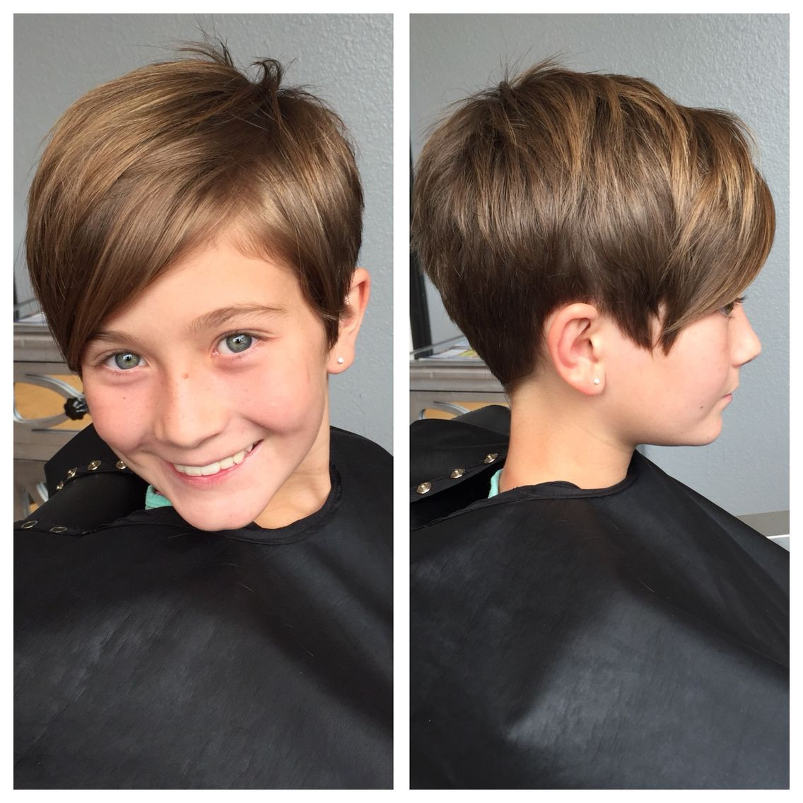 Best ideas about Pixie Haircuts For Kids . Save or Pin Kids pixie haircut Hair Now.