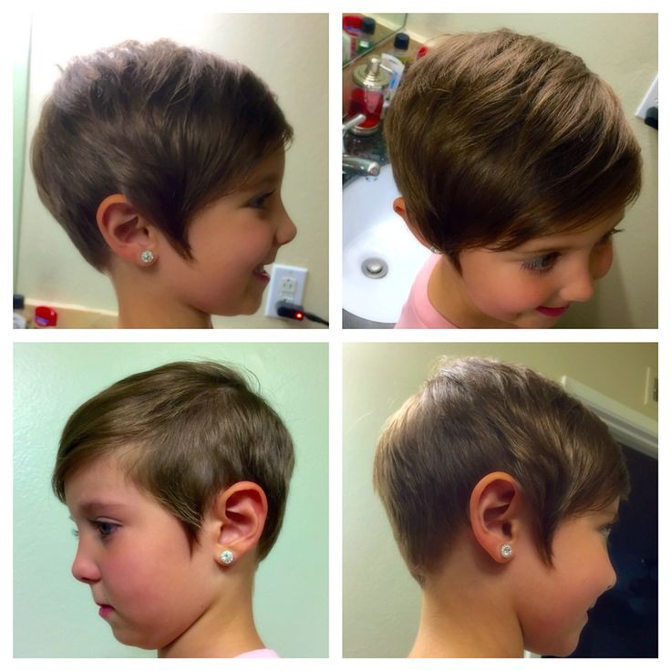 Best ideas about Pixie Haircuts For Kids . Save or Pin Kids toddler short pixie haircut Girls asymmetrical hair Now.