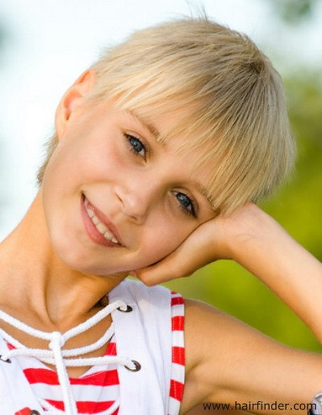 Best ideas about Pixie Haircuts For Kids . Save or Pin Pixie haircut for kids Now.