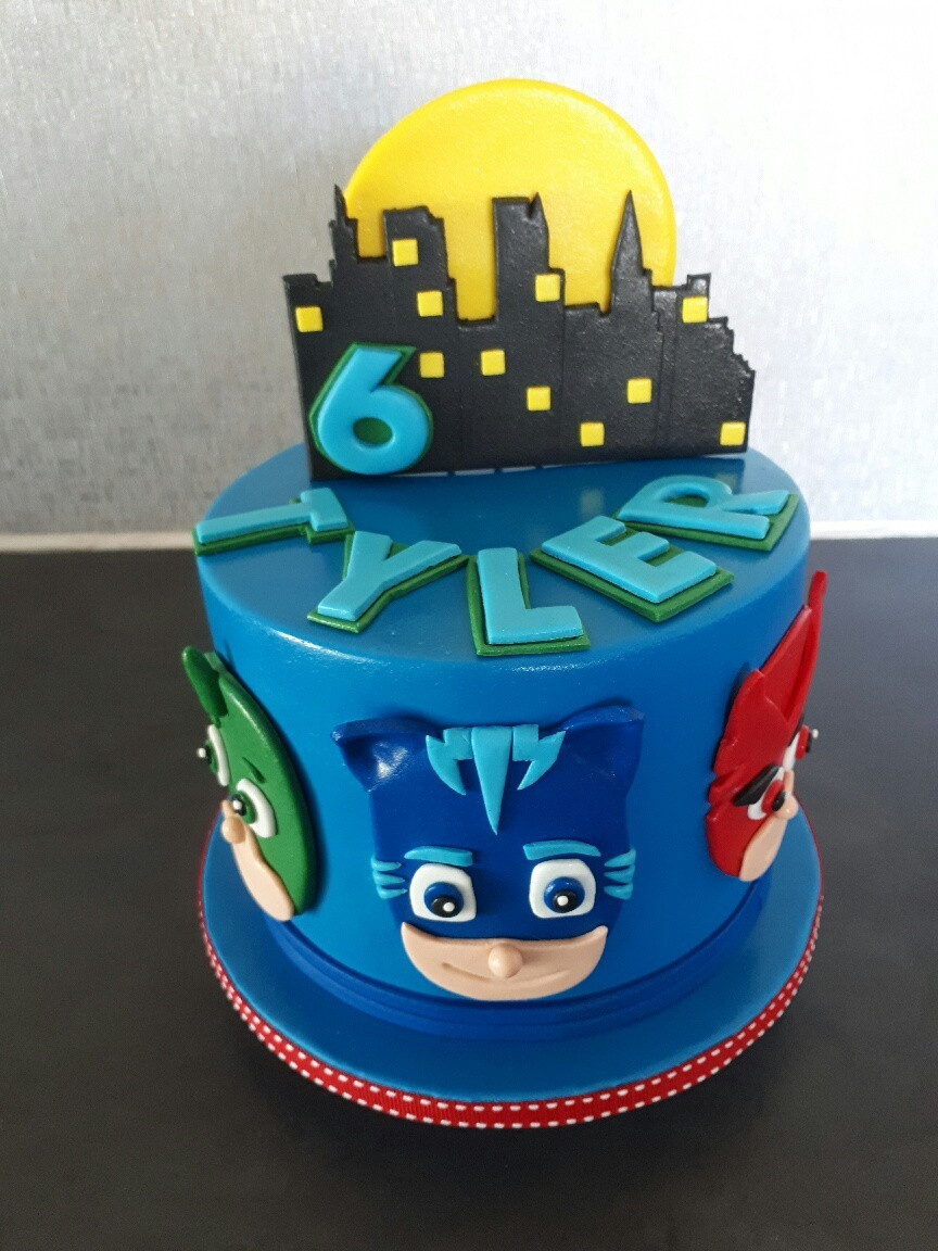 Best ideas about Pj Masks Birthday Cake Ideas . Save or Pin Birthday Cakes Now.