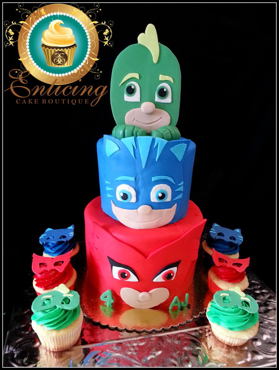 Best ideas about Pj Masks Birthday Cake Ideas . Save or Pin Pj Masks Cake CakeCentral Now.