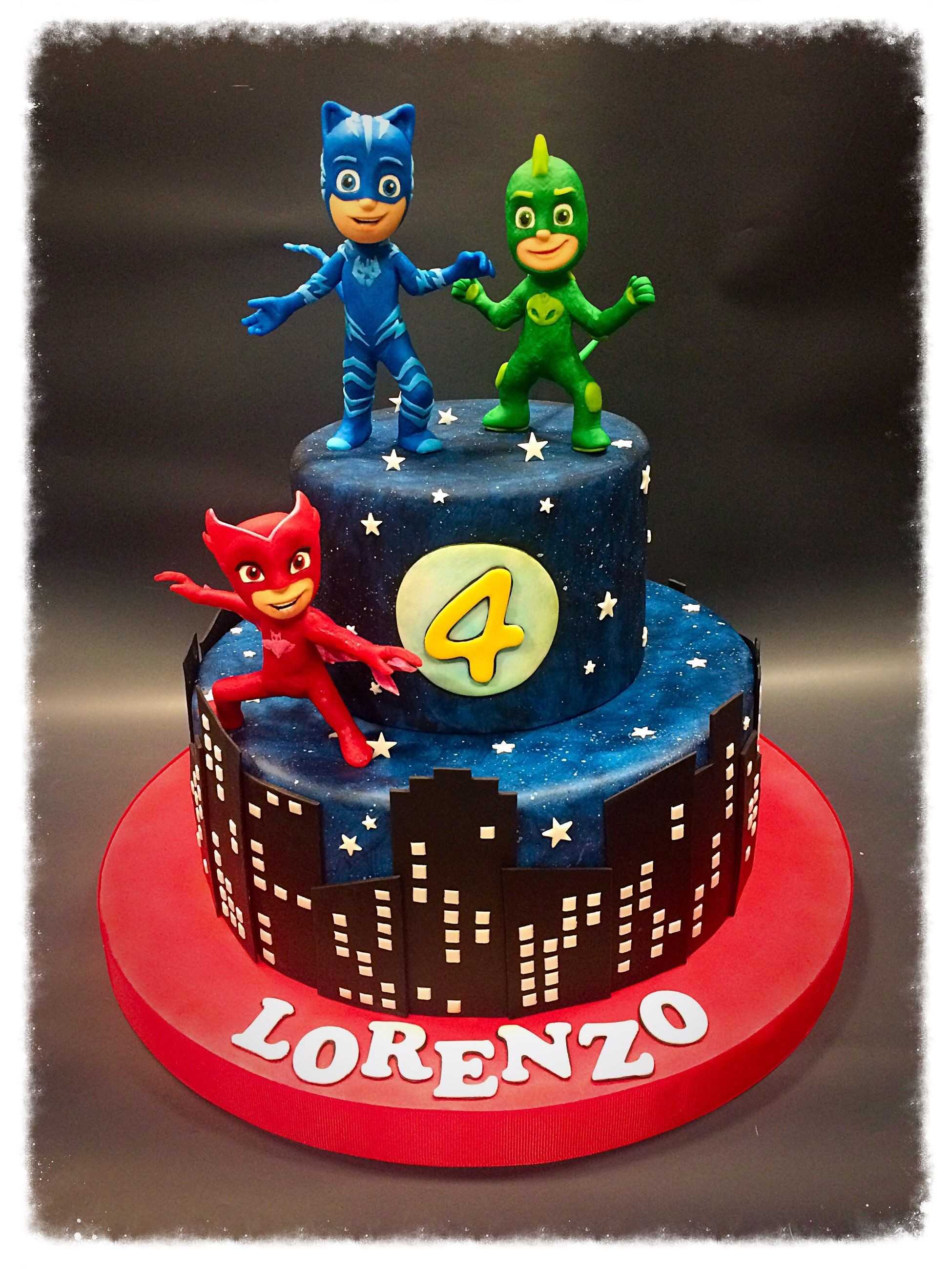 Best ideas about Pj Masks Birthday Cake Ideas . Save or Pin Torta o Recetas Pinterest Now.