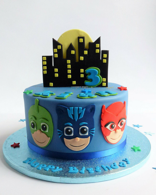 Best ideas about Pj Masks Birthday Cake Ideas . Save or Pin P J Masks Cake Now.