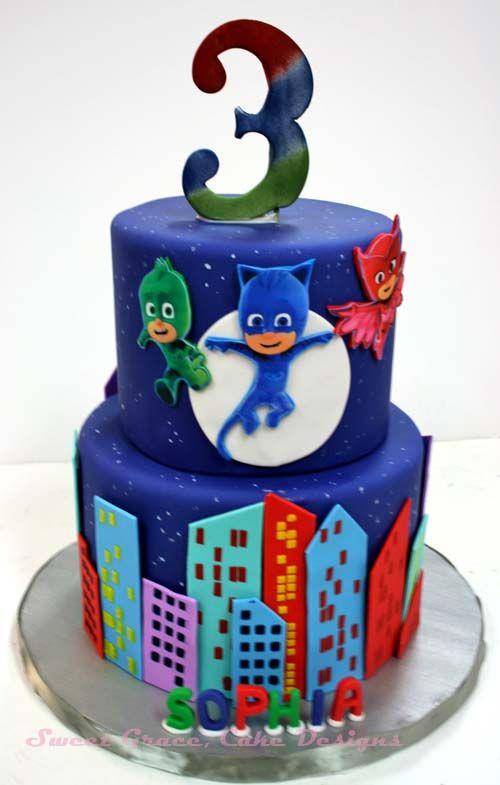 Best ideas about Pj Masks Birthday Cake Ideas . Save or Pin pj masks cake Sök på Google Cakes Now.