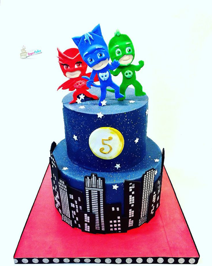 Best ideas about Pj Masks Birthday Cake Ideas . Save or Pin Pj masks cake Spoonful of Sugar Now.