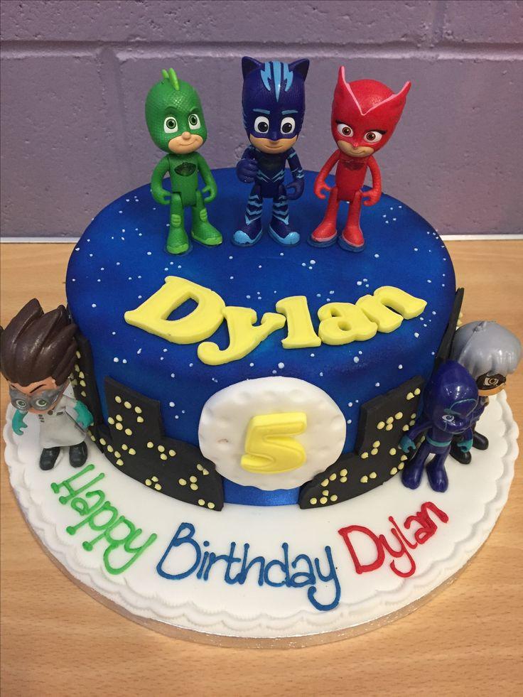 Best ideas about Pj Masks Birthday Cake Ideas . Save or Pin PJ masks birthday cake Bentley Joseph Now.
