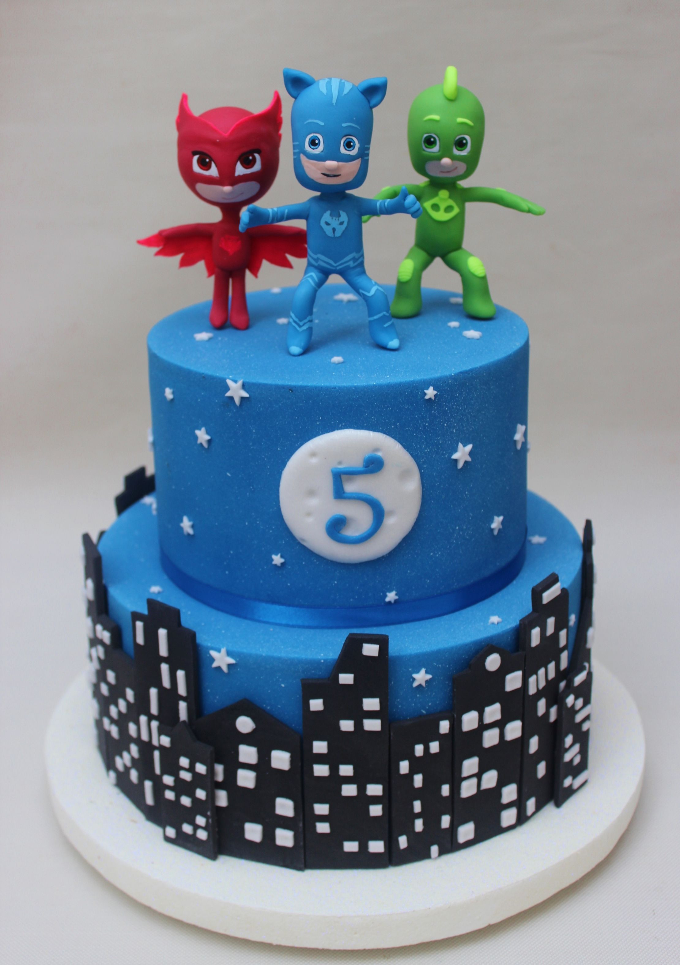 Best ideas about Pj Masks Birthday Cake Ideas . Save or Pin PJ Mask Cake Violeta Glace Birthdays Cakes Now.