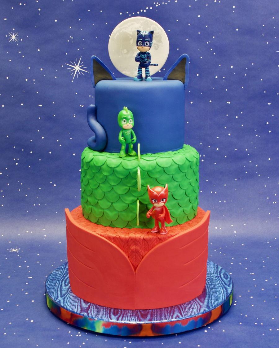 Best ideas about Pj Masks Birthday Cake Ideas . Save or Pin Pj Masks Birthday Cake CakeCentral Now.