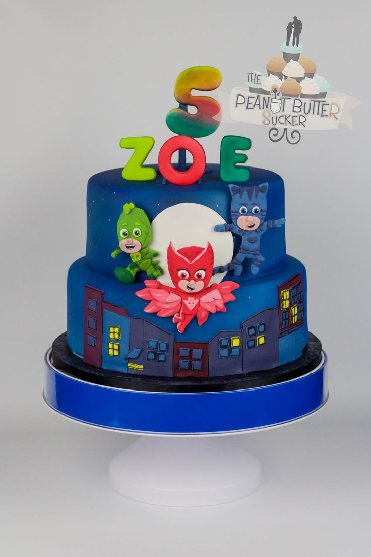 Best ideas about Pj Masks Birthday Cake Ideas . Save or Pin 167 best images about Pj mask on Pinterest Now.