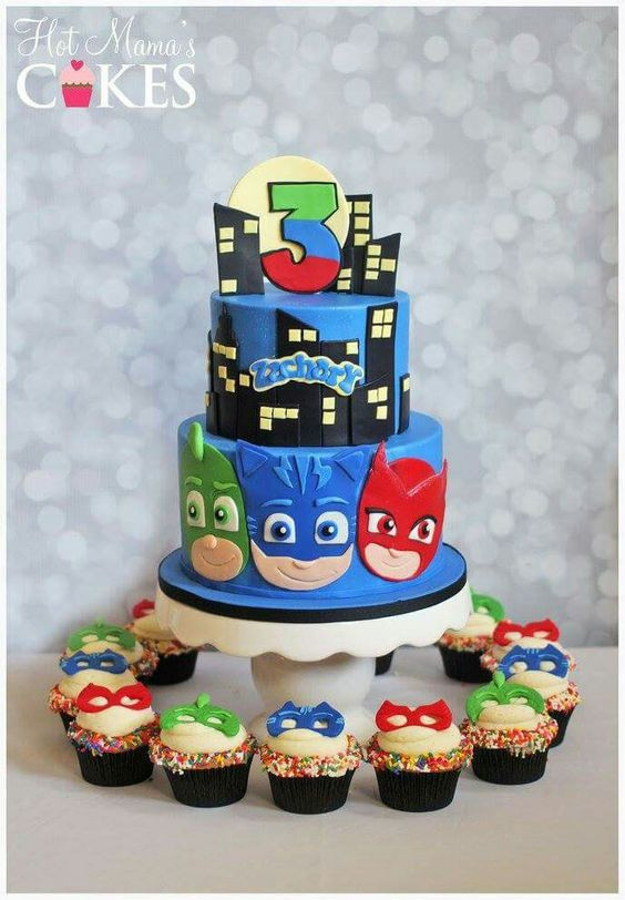 Best ideas about Pj Masks Birthday Cake Ideas . Save or Pin 13 Fun PJ Masks Party Ideas Pretty My Party Party Ideas Now.