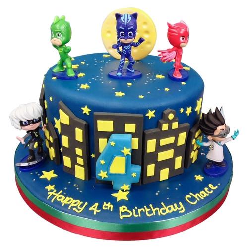 Best ideas about Pj Masks Birthday Cake Ideas . Save or Pin PJ Masks Cake Birthday Cakes Now.