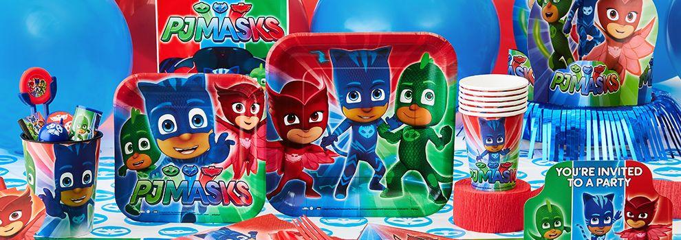 Best ideas about Pj Masks Birthday Decor . Save or Pin PJ Masks Party Supplies PJ Masks Birthday Party Now.