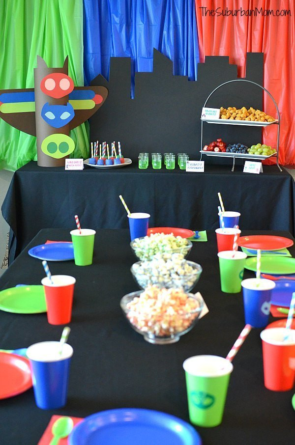 Best ideas about Pj Masks Birthday Decor . Save or Pin PJ Masks Birthday Party Ideas And Free Printables The Now.