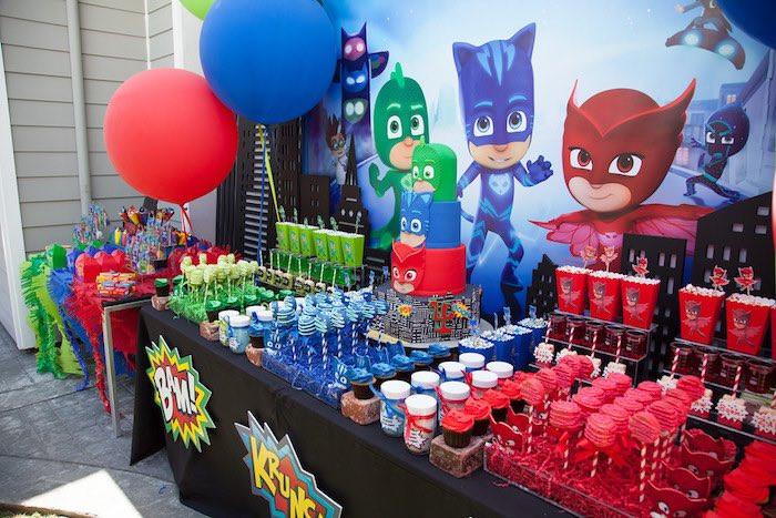 Best ideas about Pj Masks Birthday Decor . Save or Pin Kara s Party Ideas PJ Masks Superhero Birthday Party Now.