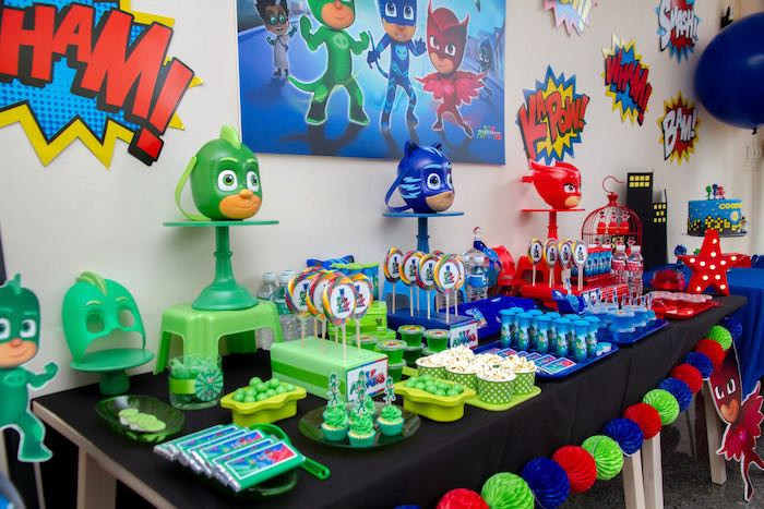 Best ideas about Pj Masks Birthday Decor . Save or Pin Kara s Party Ideas PJ Masks Birthday Party Now.