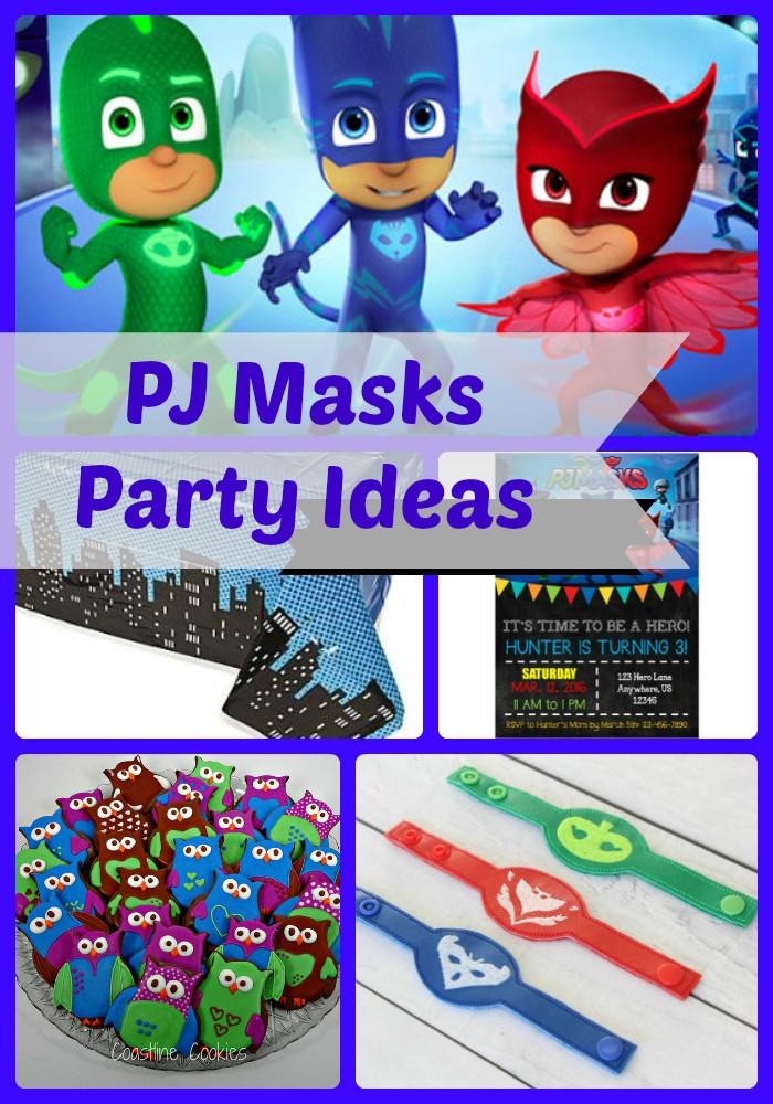 Best ideas about Pj Masks Birthday Decor . Save or Pin PJ Masks Birthday Party Ideas and Themed Supplies Now.