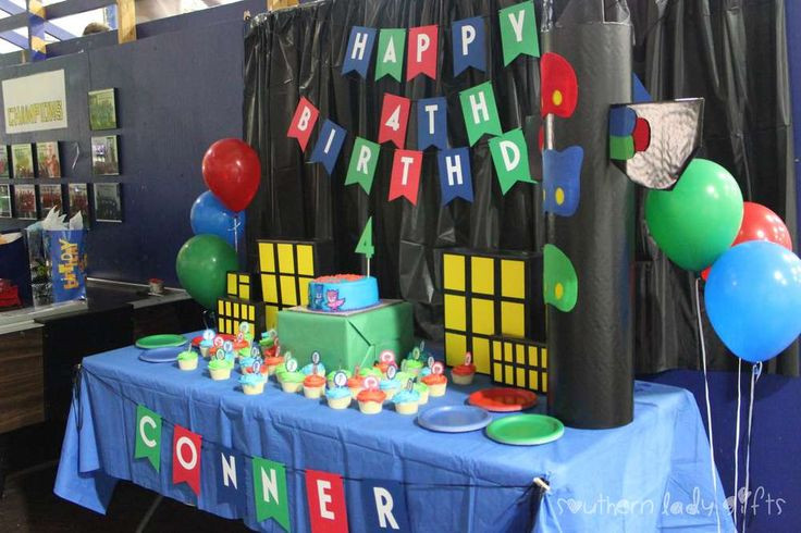 Best ideas about Pj Masks Birthday Decor . Save or Pin PJ Masks Birthday Party Ideas Now.
