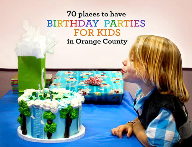 Best ideas about Place To Have A Kids Birthday Party . Save or Pin 70 Places to Have Birthday Parties for Kids in Orange County Now.