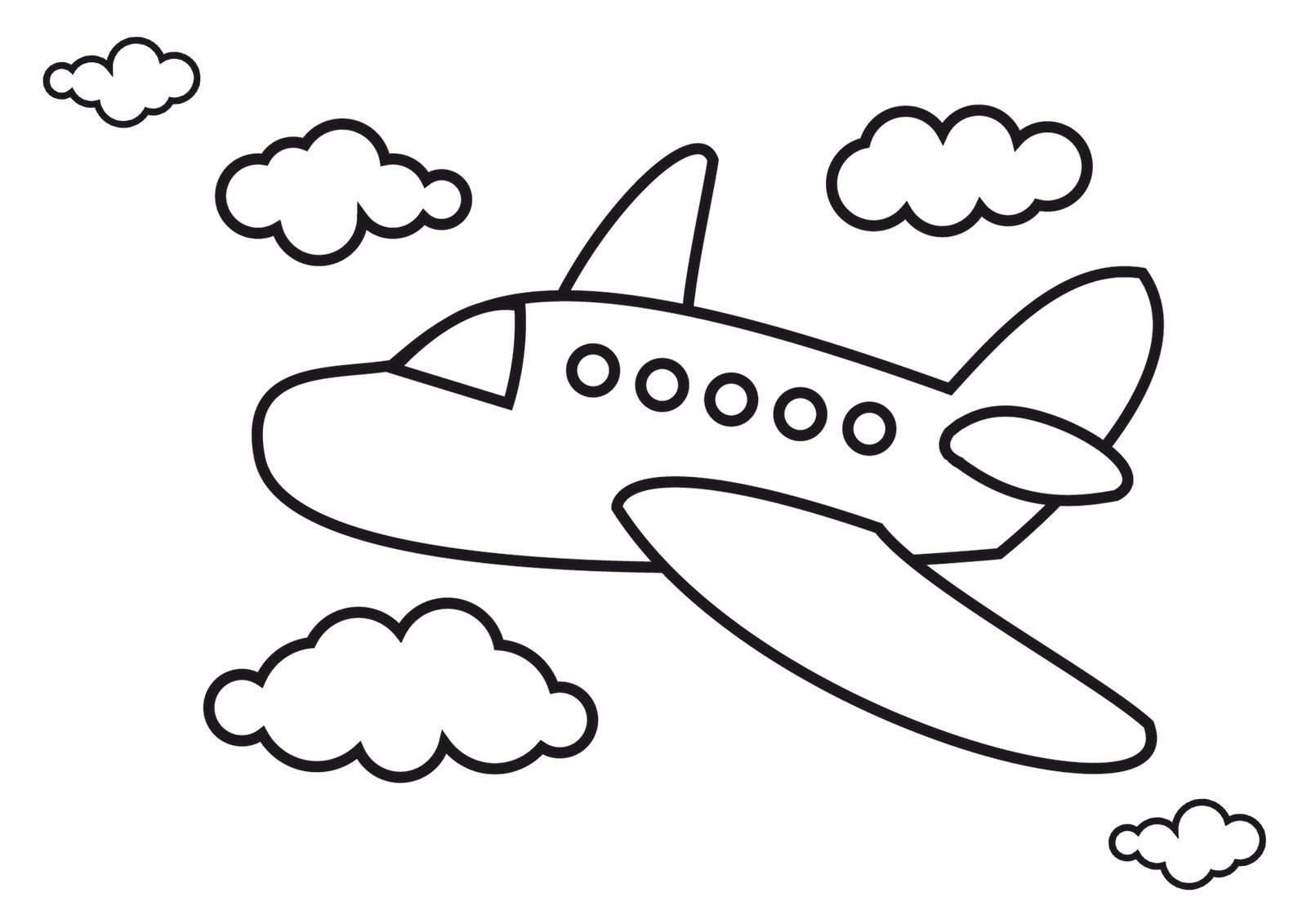 Best ideas about Planes Coloring Pages For Kids . Save or Pin Airplane Coloring Pages Airplanes For Kids Now.