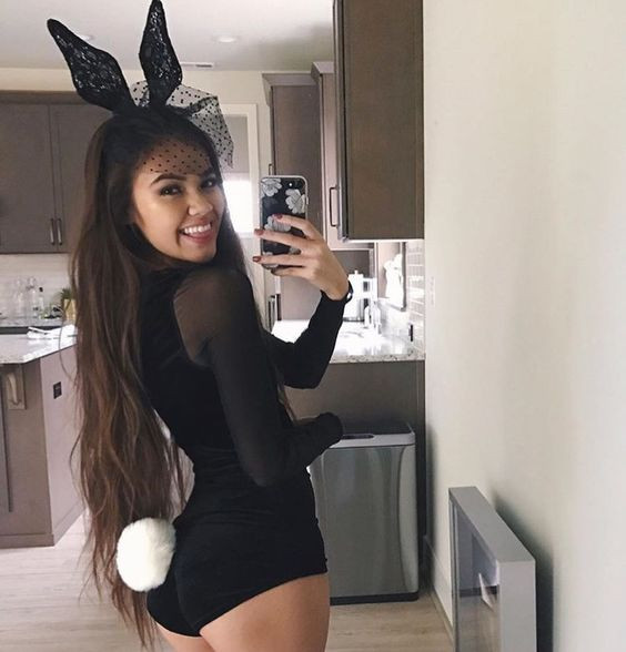 Best ideas about Playboy Bunny Costume DIY . Save or Pin 15 y Halloween Costume Ideas For Girls Styleoholic Now.