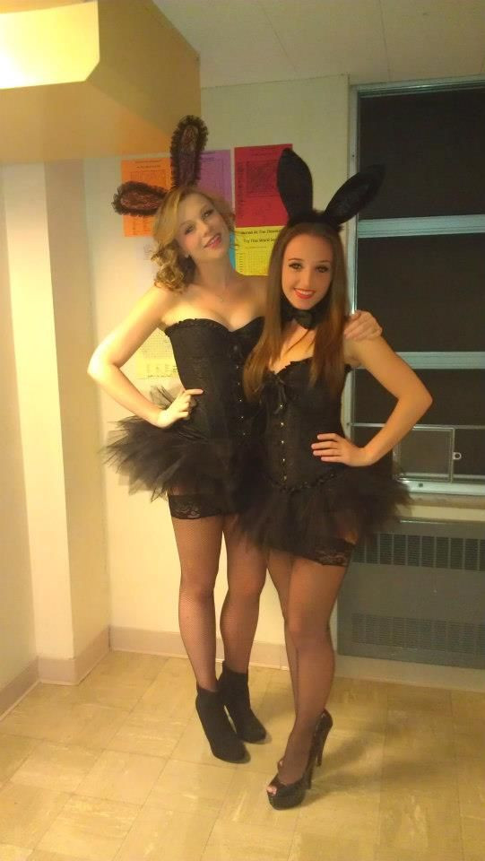 Best ideas about Playboy Bunny Costume DIY . Save or Pin playboy bunny you need black corset lace tights Now.