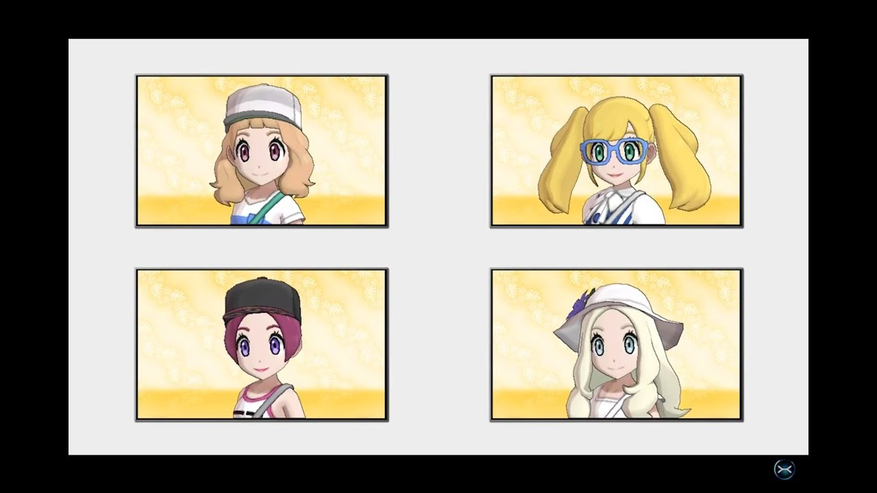 Best ideas about Pokemon Sun And Moon Female Hairstyles . Save or Pin Pokemon Sun and Moon All Hairstyles Colors Showcase Now.