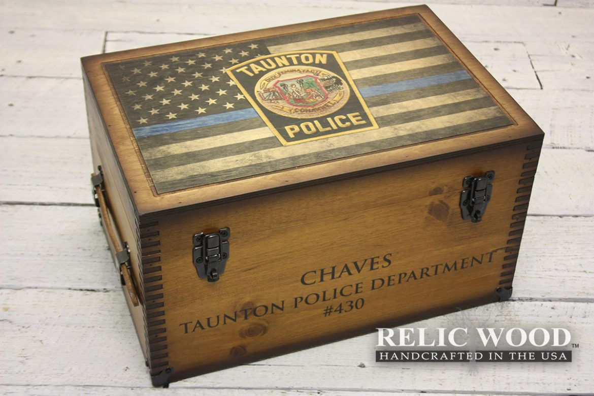 Best ideas about Police Gift Ideas . Save or Pin custom law enforcement ts Archives Relic Wood Now.