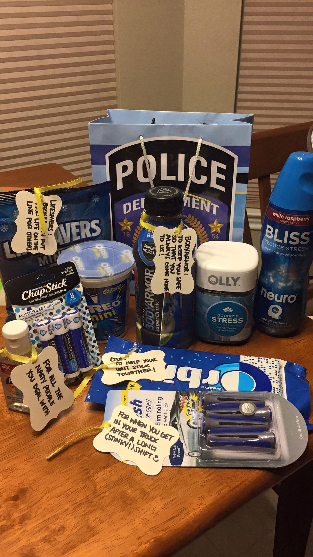 Best ideas about Police Gift Ideas . Save or Pin Police appreciation t for my husband Police Now.