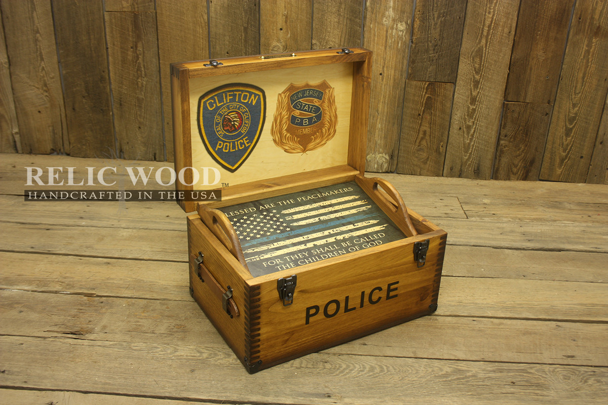 Best ideas about Police Gift Ideas . Save or Pin Custom Police Retirement Gifts Made in USA Now.
